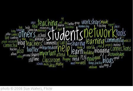 'Updated PLN Wordle' photo (c) 2008, Sue Waters - license: http://creativecommons.org/licenses/by-sa/2.0/