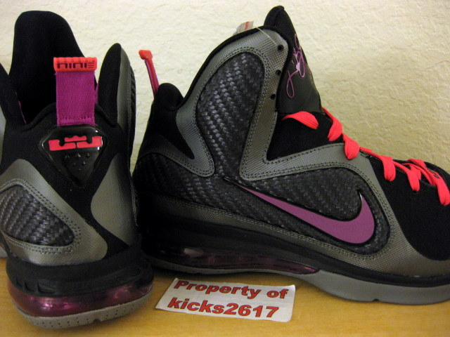 Upcoming Nike Lebron 9 Miami Nights Also With 2 Sets Of Laces
