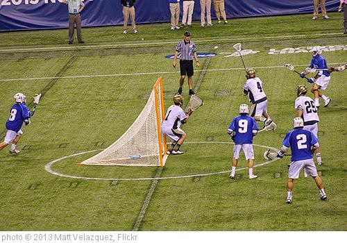 'NCAA Lacrosse Quarterfinals' photo (c) 2013, Matt Velazquez - license: https://creativecommons.org/licenses/by-nd/2.0/