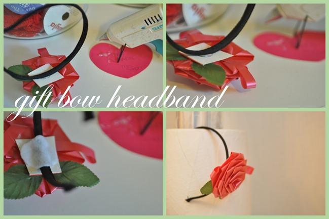 gift bow headband