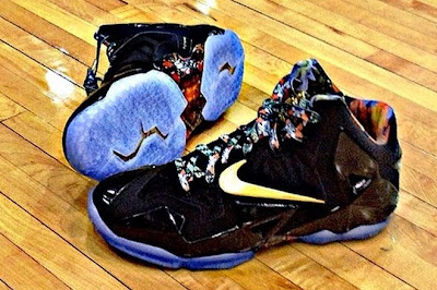nike lebron 11 pe watch the throne 1 01 First Look at Nike LeBron XI Watch the Throne PE