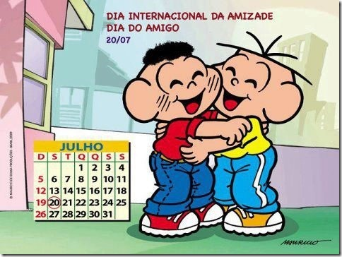 dia do amigo facebook