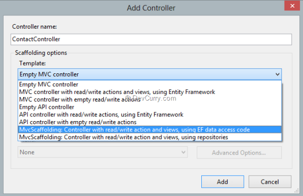 mvc-scaffolding-option-in-add-controller