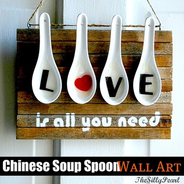 Chinese Soup Spoon Wall Art - The Silly Pearl