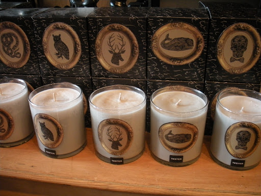 Jayson Home has a nice selection of candles.