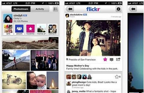 Filtros de imagen en Flickr