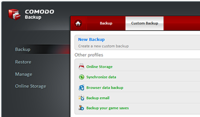 Free Windows 8 Online BackUp Software