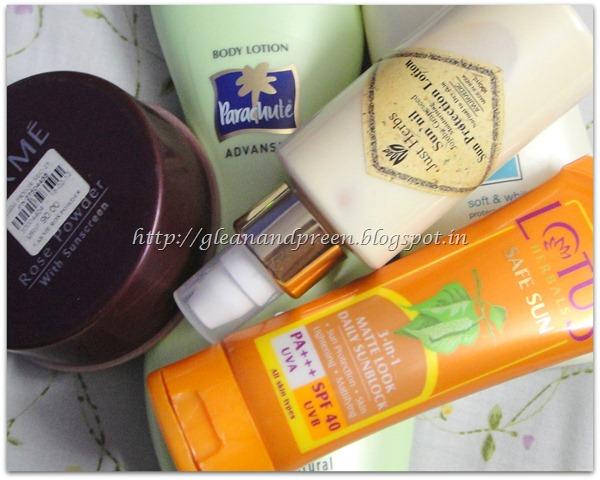 Sunscreen Directory