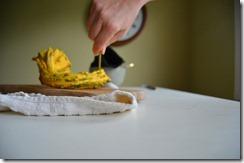 puncturing gourd