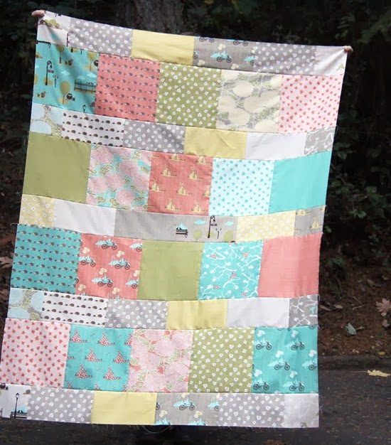 Layer Cake Lemonade Quilt