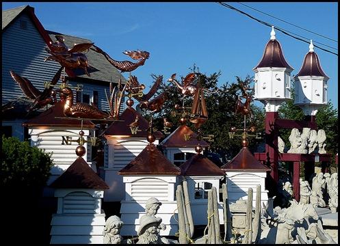04b2 - After Dinner walk - copper weathervanes