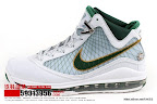 zlvii fake colorway white green gold 3 02 Fake LeBron VII
