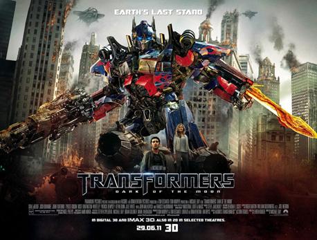 Banner และ TV Spot ตัวใหม่จากภาพยนตร์ Transformers Dark of The Moon