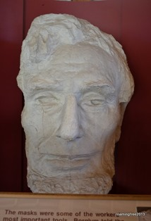 Lincoln's mask
