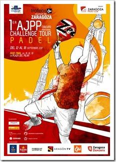1er Torneo AJPP Ciudad de Zaragoza Challenge Tour 2011 del 12 al 18 de septiembre 2011.