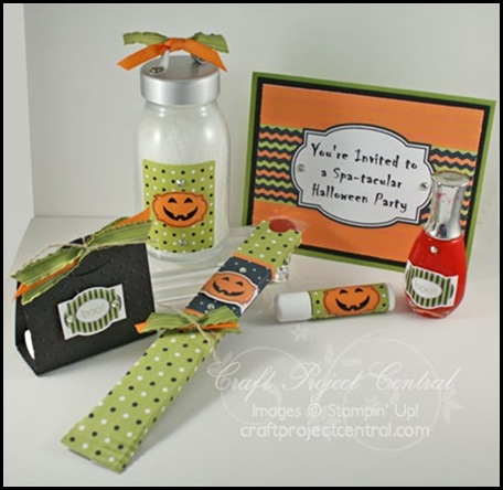 Spatacular Halloween Party, Julie Edmonds, Memo Board, cpc, Laurie Zoellmer, craft project central, blog candy, october, membership, sharon_field, createdbyu.blogspot.com, projects, big shot, kid friendly, cork, 3-d, cards, holidays, pumpkins, punches