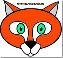 mascara de zorro animales (2)