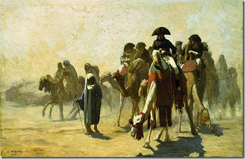 GJ-5798;0; Gerome, Jean Leon. Napoleon in Egypt.