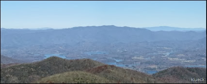 panoramic from Brasstown Bald