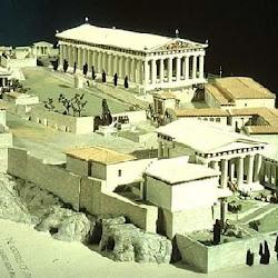 25 - Reconstruccion de la Acropolis de Atenas