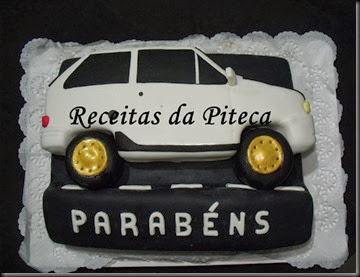 Bolo de aniversário carro