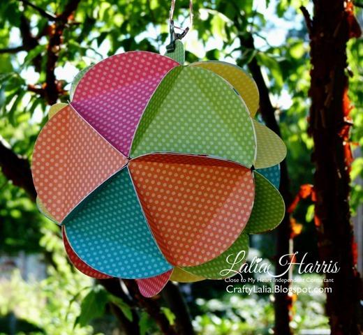 20 circle ball dotty for you Artiste CTMH