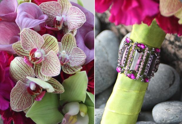 fuchsia-magenta-green-bouquet-detail aileen tran