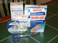 emergency 4 bandages