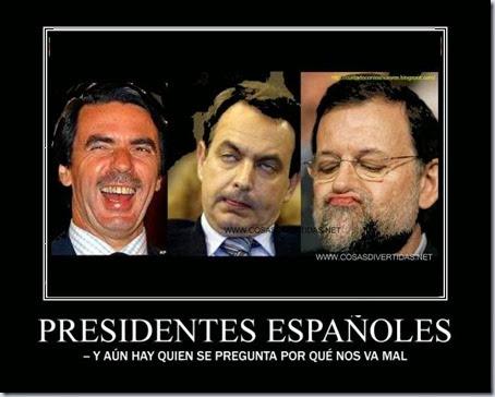presidentes 1X 1