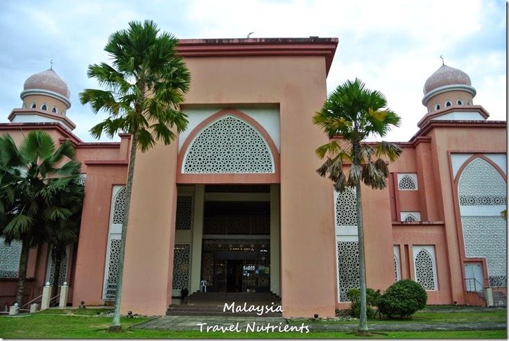 馬來西亞沙巴大學 粉紅清真寺 (16)