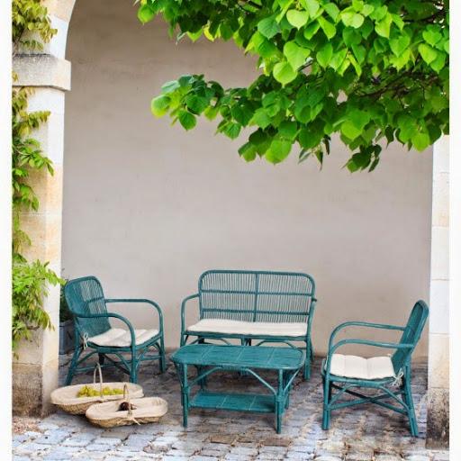Salon de jardin design Rosita ATYLIA prix promo Salon de jardin Atylia 699,00 € TTC. Salon de jardin Rosita, installez sur votre terrasse ou dans votre jardin ce salon au style vintage ! #Atylia - #Salon_de_jardin - #Salon_de_jardin_Atylia - voir ici http://bit.ly/1Cj9H0r
