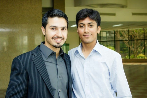 With Muhammad Saad Awan