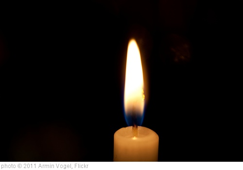 'Candle' photo (c) 2011, Armin Vogel - license: http://creativecommons.org/licenses/by/2.0/
