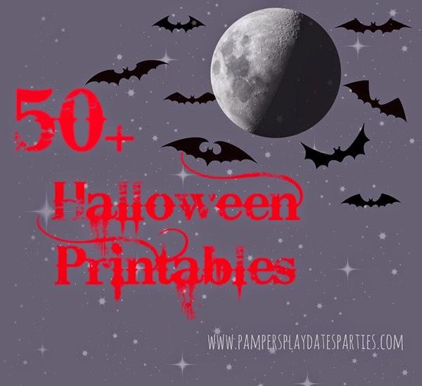 2014 Halloween Printables Roundup