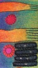 Fotoalbum mit Filzeinband Detail 4