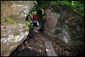 12 - Rock Garden Trail - Walking the Planks