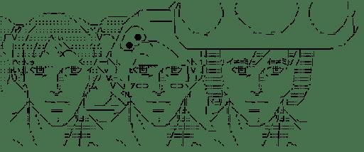 ピクピク & シルシル & コロコロ (gdgd妖精s)