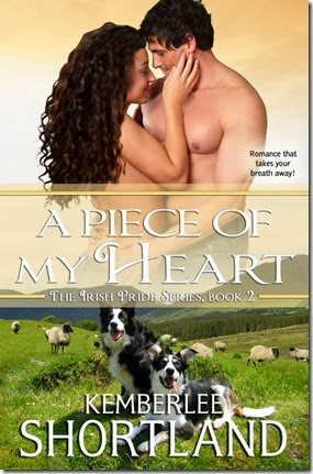 A Piece Of My Heart by Kemberlee Shortland - 500