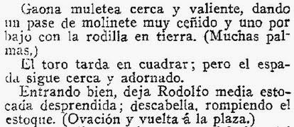 1914-04-21 (p. 22 ABC) Sevilla 4º toro Gaona Jabato