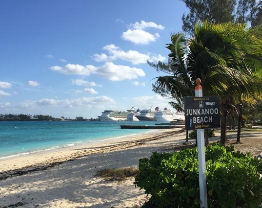 Junkanoo Beach Cruise Ships