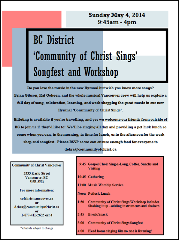 Songfest and Workshop