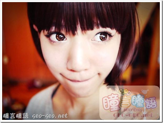 芷凌分享-NEO巨目黑/CoCo Eye可可愛美人灰/可可愛美人咖+角色扮演動漫COSPLAY彩色短髮♥優質假髮媲美LV等級♥