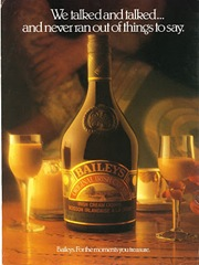 Baileys Irish Cream Ad 1986