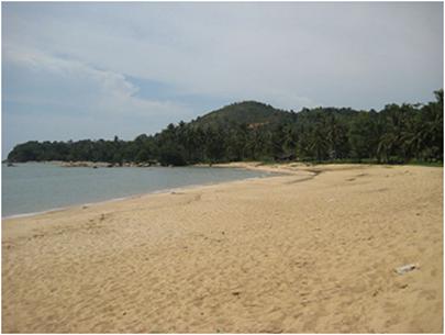 Wisata Pantai Pasir Panjang Pulau Kalimantan