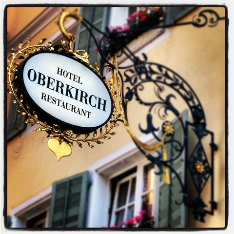 Hotel Oberkirch Restaurant in Freiburg