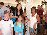 My sister Rebecca (left), cousin Liz, and Rebecca's two kids, Matthew and Alexandra