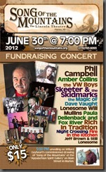 Song of the Mountains Fundraising Concert Set for June 30th