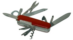 Swiss army knife brings compromises