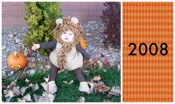 Halloween Baby Lion Costume