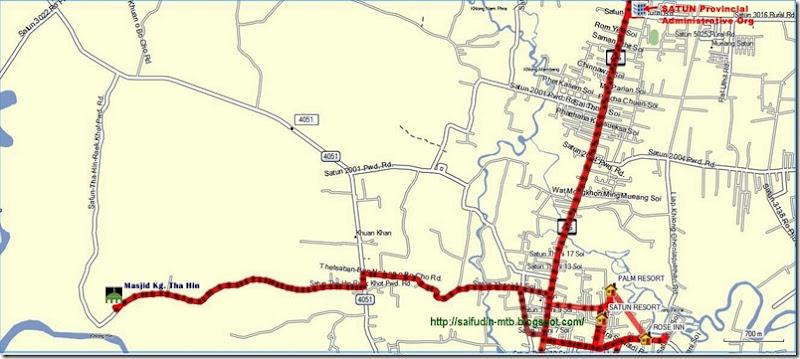 Satun map